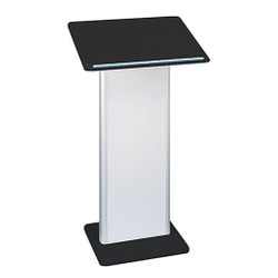 Peter Pepper 7832 Standing Lectern with Cool Gray Panel