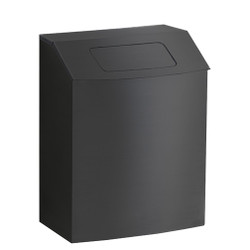 Peter Pepper HealthFIRST Trash Can IC-TX - Steel - Hinged Top with Lid - Wall Mounted