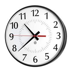 Peter Pepper 300P-QS Custom Wall Clock - Quick Ship - 10 Inch Diameter