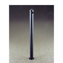 Glaro 2404BK Smokers Pole - In-Ground-Mount - Satin Black