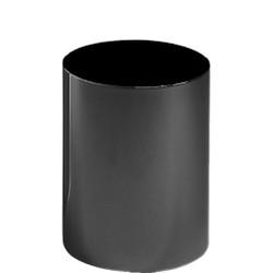 Peter Pepper Steel Trash Can 663 in Black