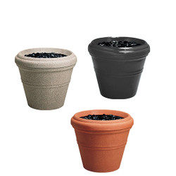 Peter Pepper Tapered Fiberglass Planter Group  Image Shown to Illustrate Design - Not to Scale