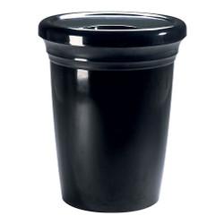 Peter Pepper Montreal 1061 Trash Can - Fiberglass - 28 Gallon