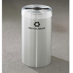 Glaro RecyclePro Value Single Stream Recycling Bin - 15 x 30 - 23 Gallon - M1542SA