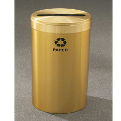 Glaro RecyclePro Value Paper Recycling Bin - 20 x 30 - 41 Gallon - P2042BE