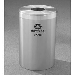 Glaro RecyclePro Value Bottle Recycling Bin - 15 x 30 - 23 Gallon - B1542SA