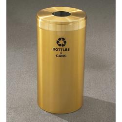 Glaro RecyclePro Value Bottle Recycling Bin - 12 x 30 - 15 Gallon - B1242BE