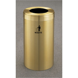 Glaro RecyclePro Value Waste Bin - 15 x 30 - 15 Gallon - W1542BE