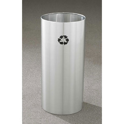Glaro RecyclePro Open Top Recycling Bin - 12 x 23 - 11 Gallon - RO1223SA