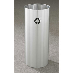 Glaro RecyclePro Open Top Recycling Bin - 12 x 29 - 14 Gallon - RO1229SA
