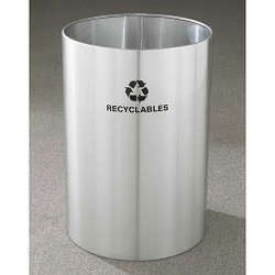 Glaro RecyclePro Open Top Recycling Bin - 20 x 29 - 39 Gallon - RO2029SA