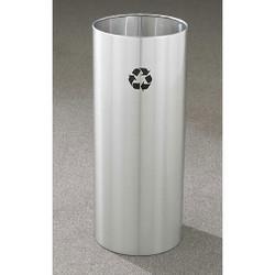 Glaro RecyclePro Open Top Recycling Bin - 12 x 29 - 14 Gallon - RO1229SA