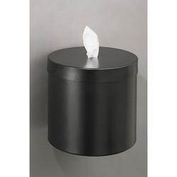 Glaro Wall Mounted Antibacterial Wipe Dispenser - W1015BK - Satin Black