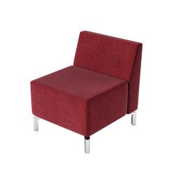 Woodstock Jefferson Straight Chair - Burgundy