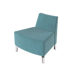 Woodstock Jefferson Outside Curve Chair - Light Blue