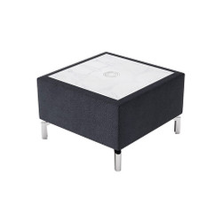 Woodstock Jefferson Rectangular Table - Charcoal