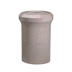 Peter Pepper Fanfare 1078 Trash Can - Fiberglass - 42 Gallon