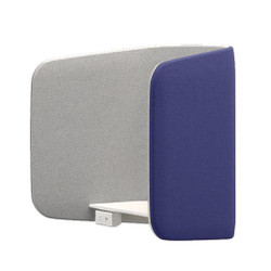 Peter Pepper iBooth Wall-Mounted Work Surface - Combination Upholstery