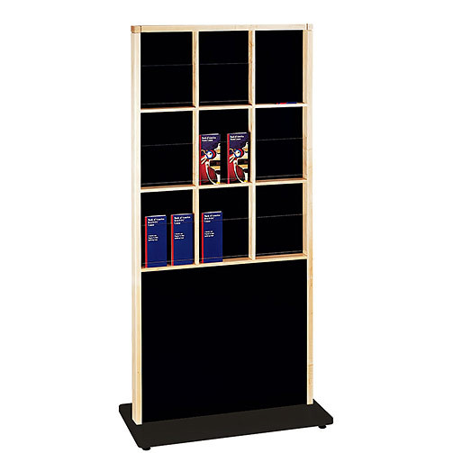 Peter Pepper 5605 - 9 Pocket Standing Magazine and Literature Rack
