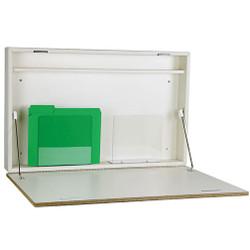 "Peter Pepper 4906 Wall Mounted Folding Desk - 30"" Wide"