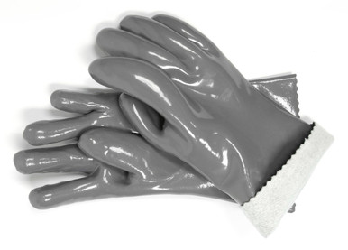 Grey Insulated BBQ Gloves