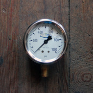 GLS410 0/60 PSI Pressure Gauge | Jamieson Machine Industrial Supply Company
