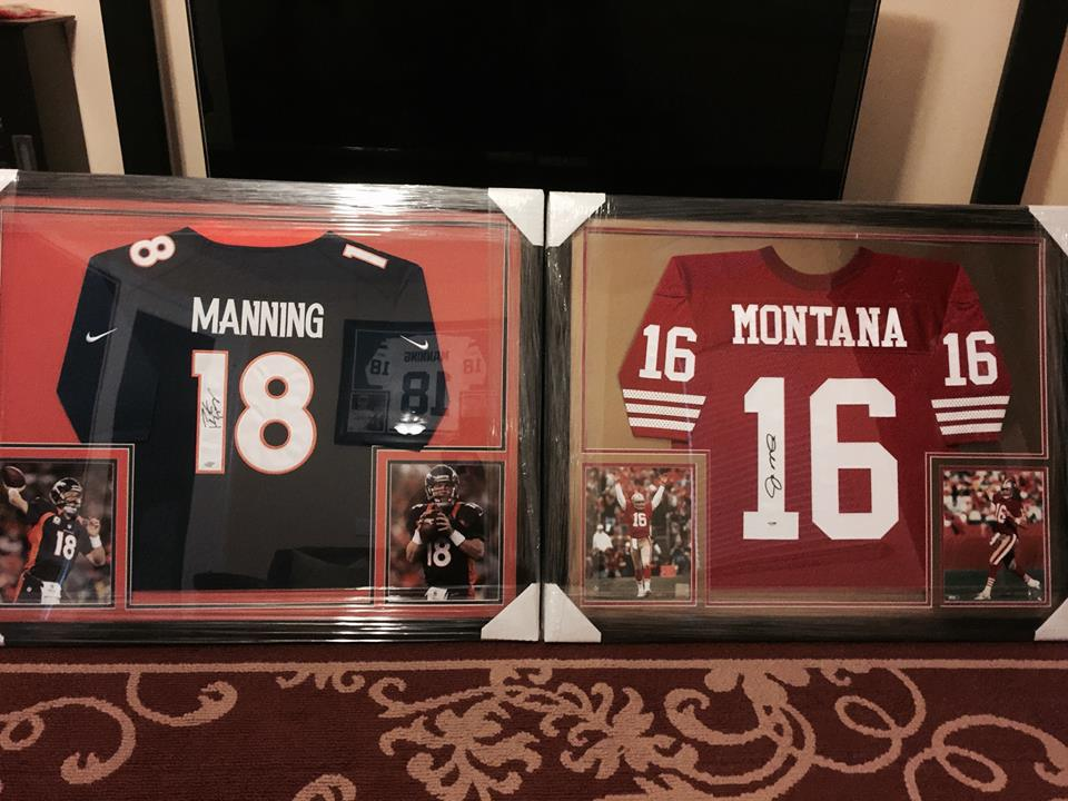 Blog: Outside the Frame - high school jersey framing X