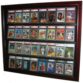 This 32 Sports Card Case is the best way to show off your prized baseball card collection