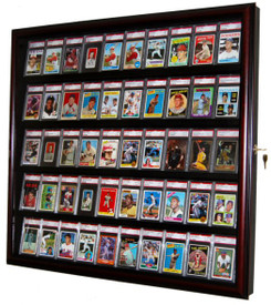 This 50 Sports Card Case is the best way to show off your prized baseball card collection
