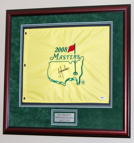 Framed Golf Pin Flag is a great way to capture your favorite golf course and golf memories!