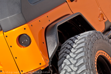 JK Rear Tube Fenders