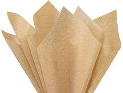 "Desert Tan Tissue Paper 15"" x 20"" - 50 Sheets"
