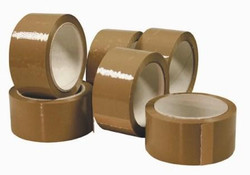 "Tan Packing Tape - 2"" x 110' Feet"