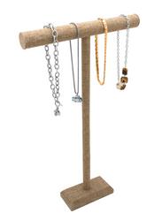 """Burlap Fabric 24""""H T Bar for Necklaces/Bracelets"""