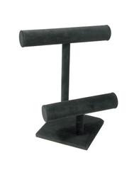 Black Velvet Double T Bar
