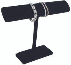 Black Velvet Tall Oval T Bar