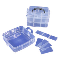 18 Compartments 3 Layer Stackable Organizer