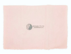 "11""x14"" LightPink/White Jewelry Polishing Cloth"