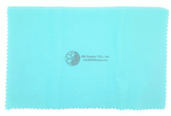 "11""x14"" LightBlue/White Jewelry Polishing Cloth"