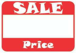 "1 5/8"" x 1 1/8""H Self Adhesive Pre-Printed ""Sale  Price"" Labels (500 labels)"