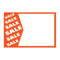 "Small Paper ""SALE SALE SALE"" Store Message Sign (50Pcs/Pack)"