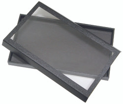 "1 1/2""H Magnetic Acrylic Lid Display Case - 14 3/4"" x 8 1/4"""