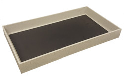 "1 1/2"" Deep Standard Grey Utility Trays"