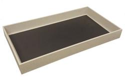 "3"" Deep Standard Grey Utility Trays"