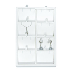 Small 8 Pendant/Earring Pad Insert Jewelry Display Tray