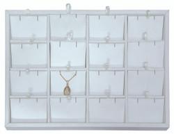 Medium 16 Pendant/Earring Pad Jewelry Insert Tray