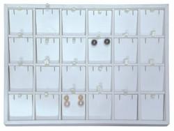 Medium 24 Pendant/Earring Pad Jewelry Insert Tray
