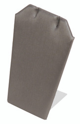 Steel Grey Single Notched Edges Earring Display Stand