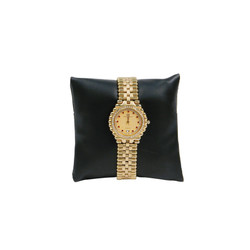 "5"" Black Leatherette Pillow Displays"