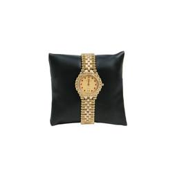 "4"" Black Leatherette Pillow Displays"